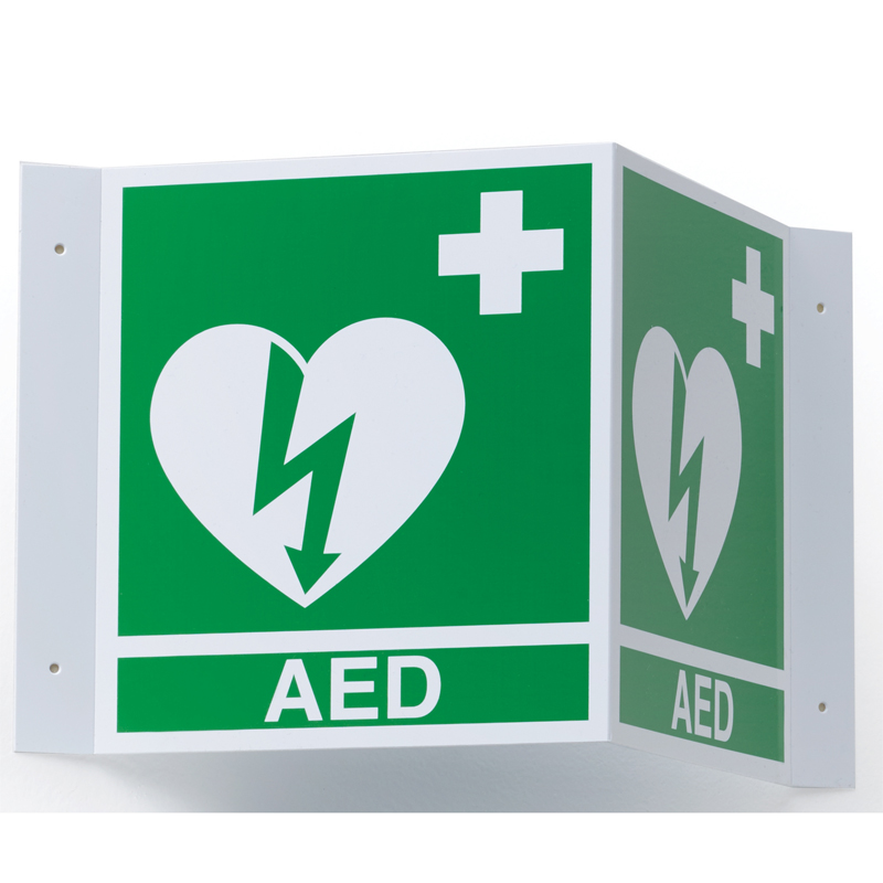 AED 3 - ILCOR 3D Wall Sign