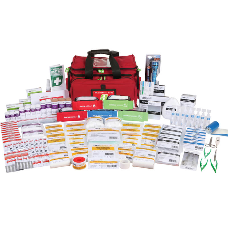 First Aid Kit-R4 - Remote Area Medic - Soft Pack