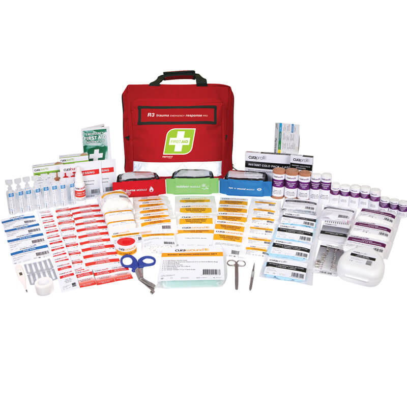 First Aid Kit-R3-Trauma & Emergency Response Pro - Soft Pack