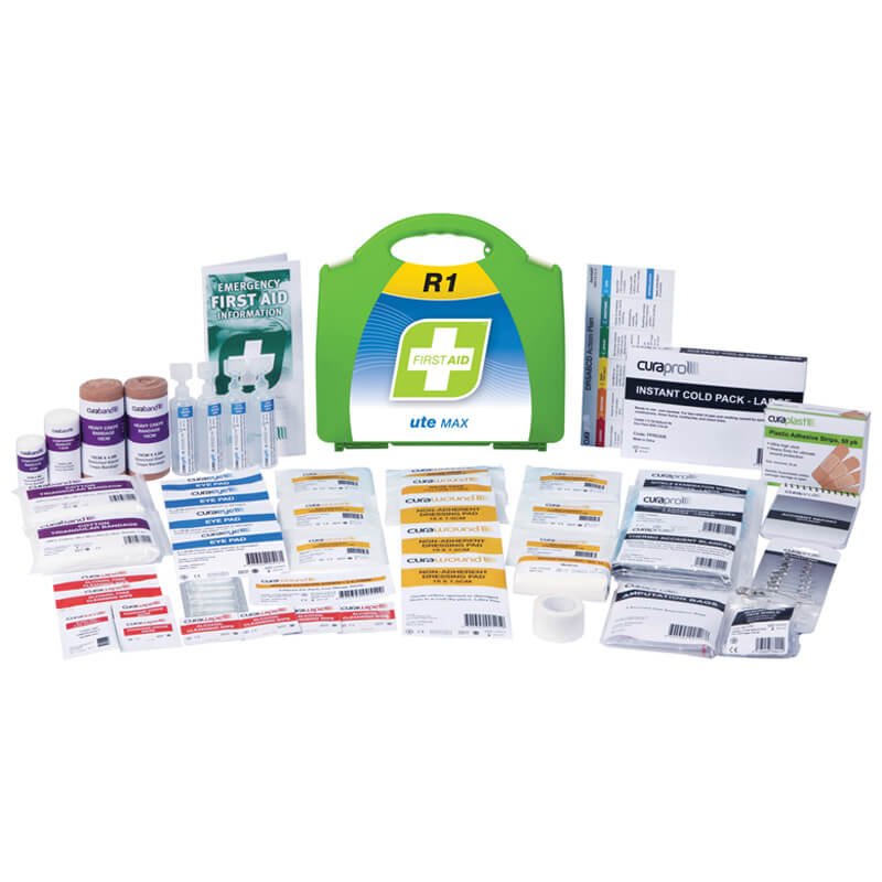 First Aid Kit-R1 - Ute Max - Plastic Portable