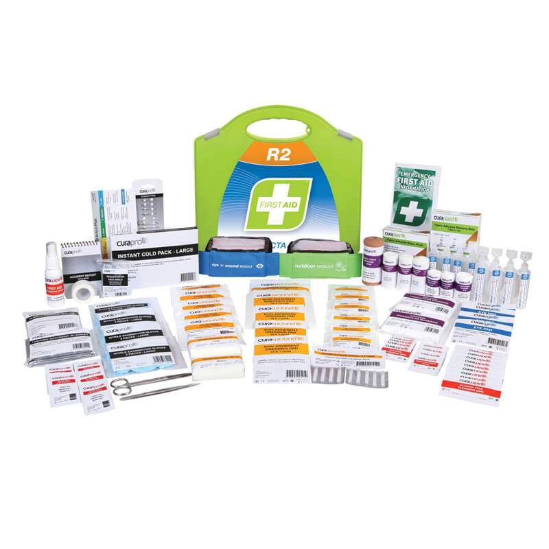 First Aid Kit-R2 - Constructa Max - Plastic Portable