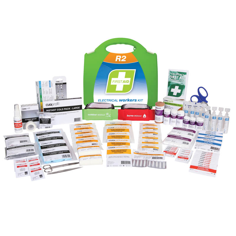 First Aid Kit-R2 - Electrical Workers - Plastic Portable