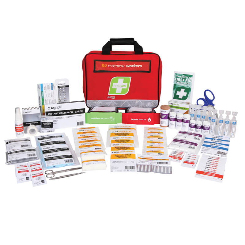 First Aid Kit-R2 - Electrical Workers - Soft Pack
