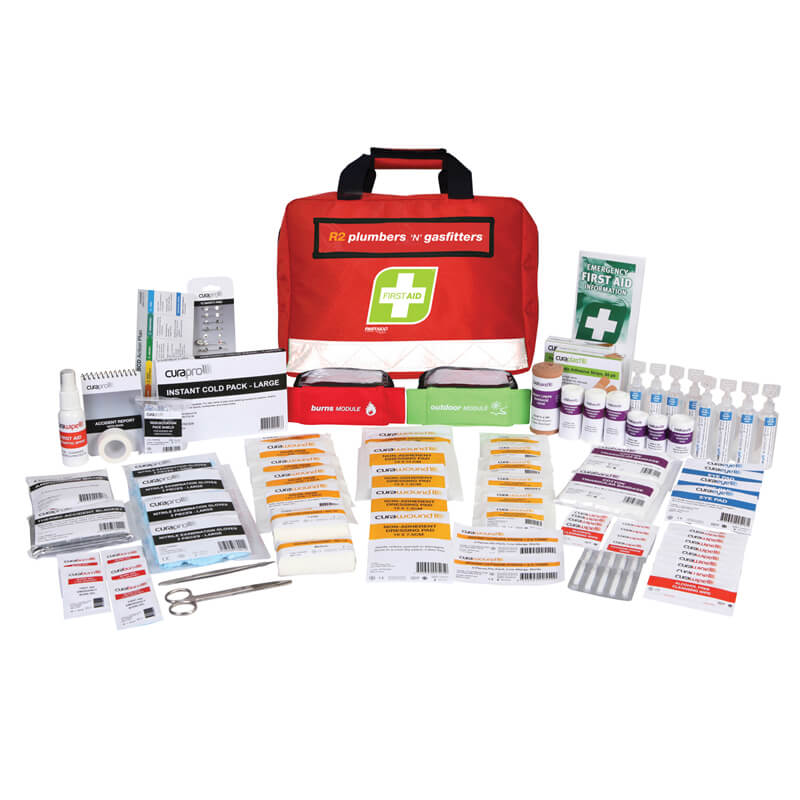 First Aid Kit-R2 - Plumbers & Gasfitters - Soft Pack