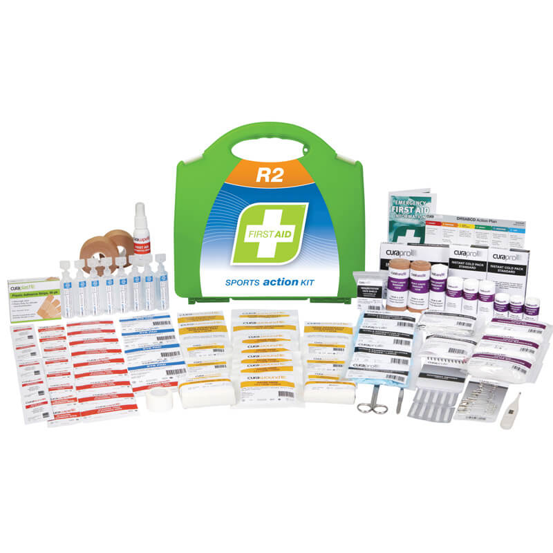 First Aid Kit-R2 - Sports Action - Plastic Portable