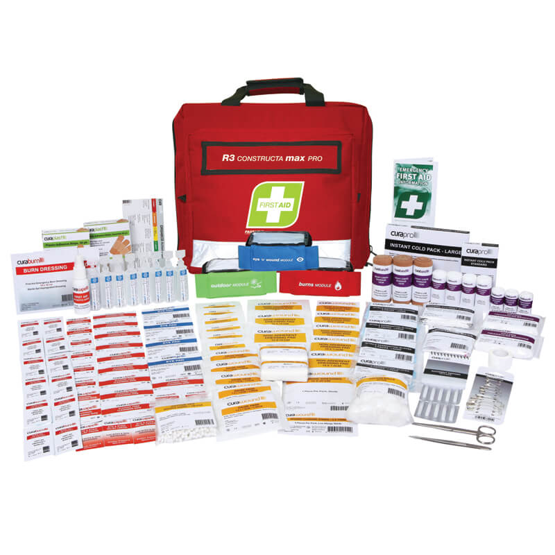 First Aid Kit-R3 - Constructa Max Pro - Soft Pack