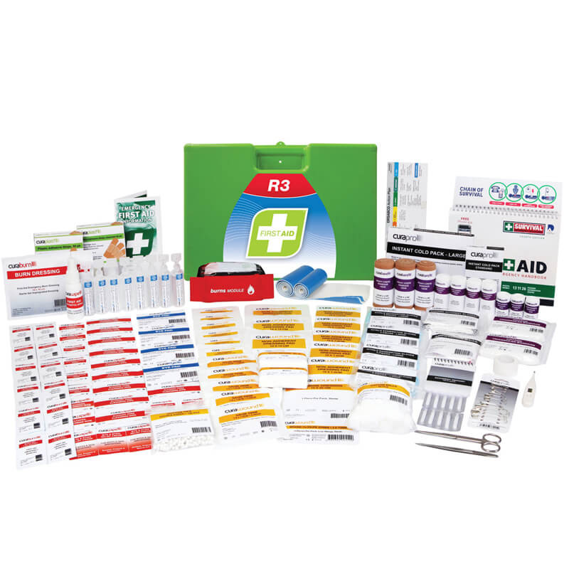 First Aid Kit-R3 - Marine Pro - Plastic Portable