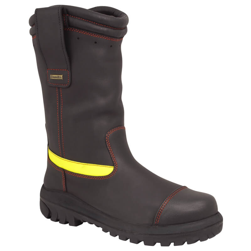 Fire Boots 66-496 Pull On Structural - Type 2 (300mm)