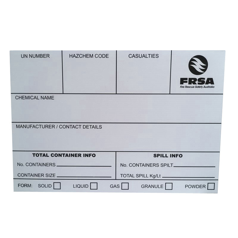 FRSA H.I.B. (Hazard Identification Boards)