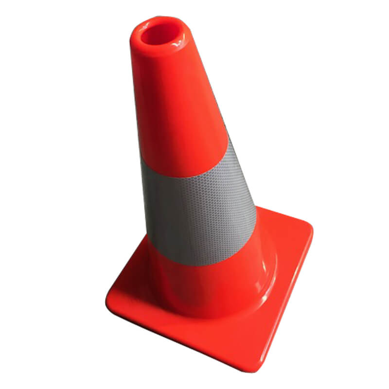 PVC Road Cones with Reflective Collar
