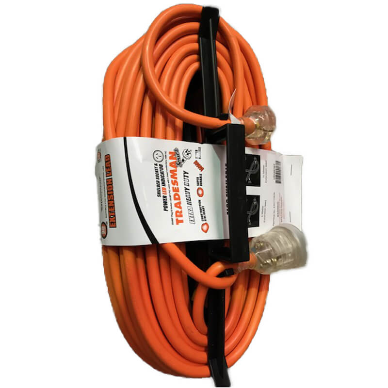 Power Lead - 30M, 10amp, HD Rated