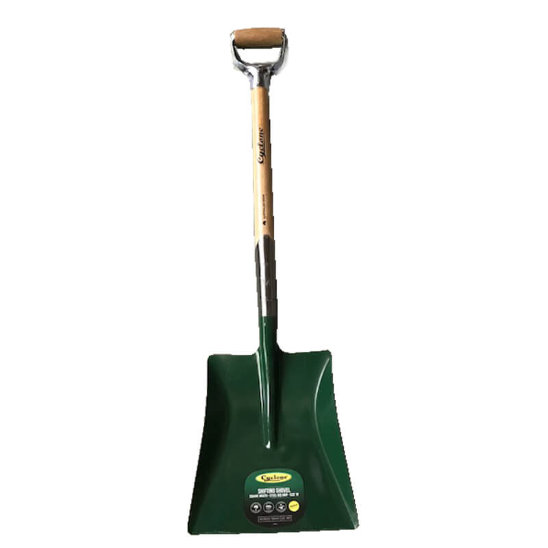 D Handle Square Shovel