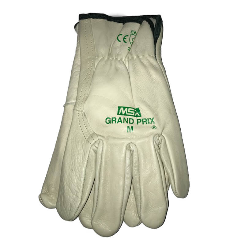 Grand Prix Leather Riggers Glove - Size Medium