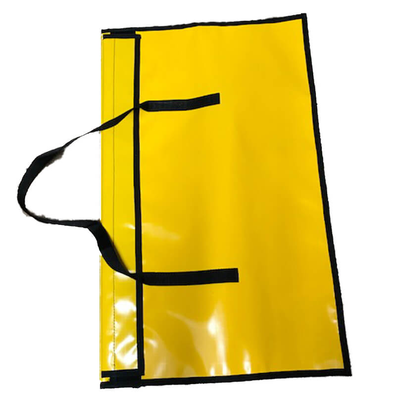 BA Entry Control Tally Board Bag - Yellow PVC Bag